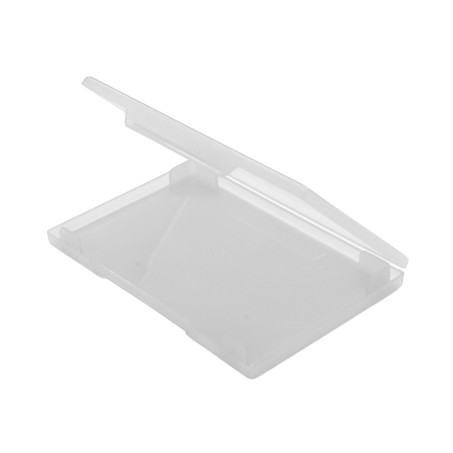 Plastic business card box clear transparent colourmoves